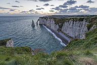 France, Normandy, Etretat, Cliffs - RPSF00008