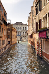 Italy, Venice, houses and canal - RPSF00021