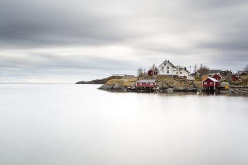 Norway, Lofoten, Nusfjord, Hamnoy - RPSF00054