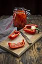 Pickled roasted bell pepper - LVF06398