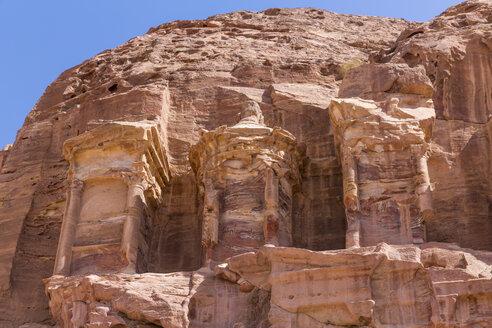 Jordania, Wadi Musa, Petra, Royal tombs, Corinthian tomb - MABF00468