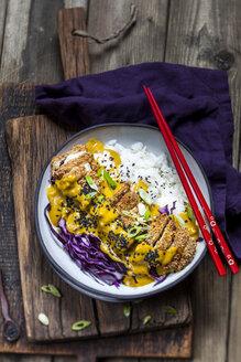 Katsu Curry with chicken escalope - SBDF03362
