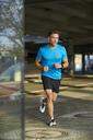 Man running in the city - PNEF00289