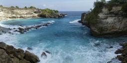 Indonesia, Bali, Nusa Lembongan, Nusa Ceningan, Blue Lagoon - ZCF00557