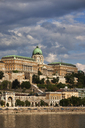 Hungary, Budapest, Buda Castle at Danube River - ABOF00301