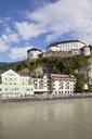 Austria, Tyrol, Kufstein, Old town, Kufstein Fortress, Inn river - WIF03446