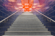 Germany, Bavaria, Munich, Underground station Marienplatz, stairs - MMA00189