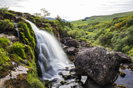 Great Britain, Scotland, Scottish Highlands, Stirling, Fintry village, River Endrick, Loup of Fintry Waterfall - FOF09464