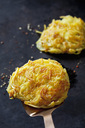 Potato rosti on spatula - CSF28533