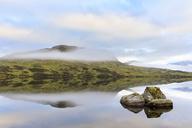 Great Britain, Scotland, Scottish Highlands, Glencoe, Rannoch Moor, Lochan na H'Achlaise - FOF09504