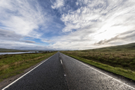 Great Britain, Scotland, Scottish Highlands, Glencoe, Rannoch Moor, A82 road at Lochan na H'Achlaise - FOF09507