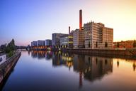 Germany, Frankfurt, modern buildings at Westhafen - PUF00907