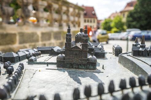 Germany, Hesse, Fulda, miniature of Fulda Cathedral - PUF00913
