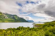Norway, Nordland, Vestvagoey, Lofoten Island, View of coast - CSTF01505