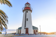 South Africa, Cape Town, Robben Island, Lighthouse - ZE14847
