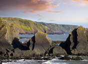 Great Britain, England, Devon, Hartland, Hartland Quay, Screda Point - SIEF07622