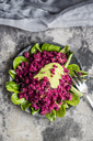Quinoa salad with beetroot, lamb's lettuce and avocado - SARF03416