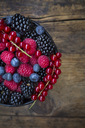 Wild berries in bowl - LVF06443