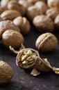Cracked walnut, close-up - CSF28575