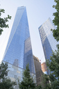 USA, New York City, One World Trade Center and Seven World Trade Center - HLF01075