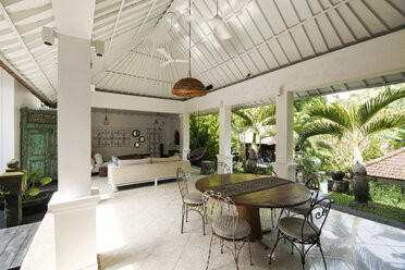 Open living and dining area in a tropical luxury home - SBOF00956