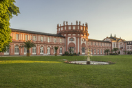 Germany, Hesse, Wiesbaden, Biebrich Palace in the evening - PVCF01201