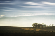 Great Britain, Scotland, East Lothian, Lammermuir HIlls, Crystal Rig Wind Farm - SMAF00896