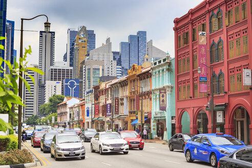 Singapore, Chinatown, street - VT00609