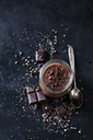 Dessert of chia seeds, chocolate and cacao nibs - CSF28604