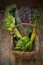 Organic mangold in basket - LVF06506