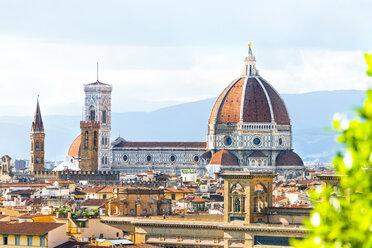Italy, Tuscany, Florence, Old town, Santa Maria del Fiore and Badia Fiorentina - CSTF01537