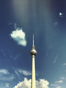 Germany, Berlin, Alexanderplatz, TV tower - GWF05335