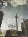 Germany, Berlin, Alexanderplatz, TV tower - GW05356