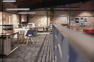 Interior of a modern industrial style loft office - WESTF23775
