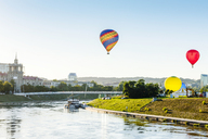 Lithuania, Vilnius, hot air ballooning - CSTF01552