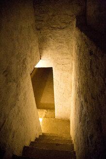 India, Rajasthan, Alwar, Heritage Hotel Ram Bihari Palace, cellar - NDF00707