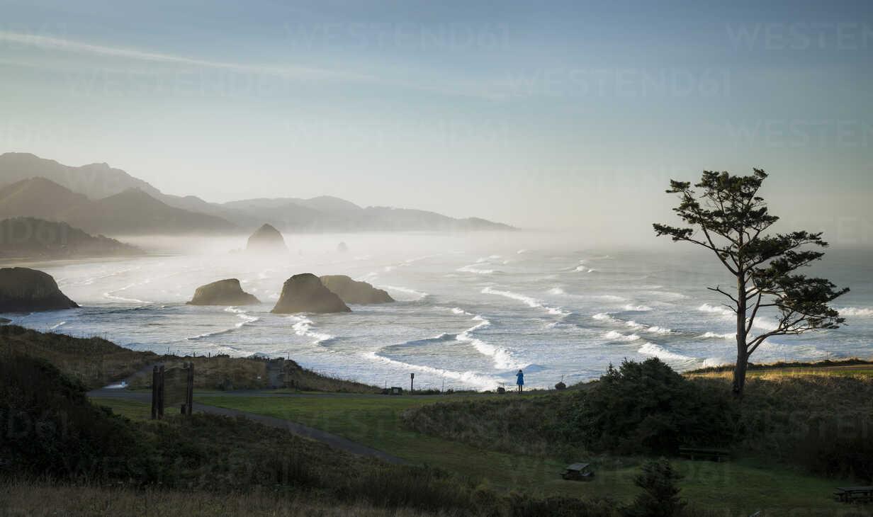 USA, Oregon, Cannon Beach at sunrise - STCF00373 - Spotcatch/Westend61
