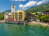 Austria, Salzkammergut, Salzburg State, Lake Wolfgangsee, St. Wolfgang, Hotel Weisses Roessl - AM05582