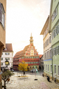 Germany, Baden-Wuerttemberg, Esslingen, Old town, old town hall - PUF01062