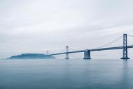 USA, California, San Francisco, Oakland Bay Bridge - WVF00869