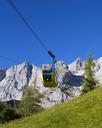 Austria, Styria, Salzkammergut, Dachstein massif, Dachstein glacier lift - WWF04013