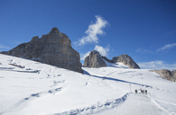 Austria, Styria, Salzkammergut, Dachstein massif, Hoher Dachstein, hiking trail - WWF04019
