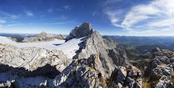 Austria, Styria, Salzkammergut, Dachstein massif, View to Dirndl, Gjaidstein, Hallstaetter Glacier - WWF04022