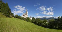 Austria, Salzburg State, Lungau, Tamsweg, Pilgrimage church St Leonhard - WWF04071