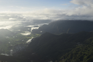 Thailand, sunrise from the top of Phu Chi Fa mountain - IGGF00338
