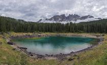Italy, Dolomite Alps, Lago di Carezza - RPSF00111