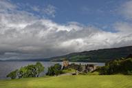 Great Britain, Scotland, Scottish Highlands, Drumnadrochit, Loch Ness, Urquhart Castle - LBF01722