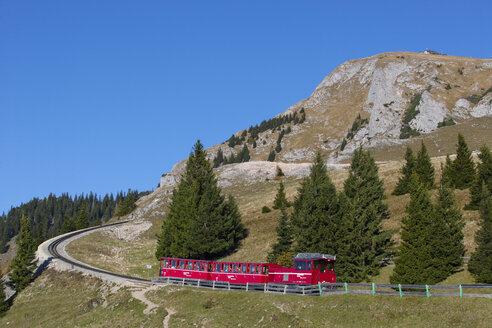 Austria, Salzkammergut, St. Wolfgang, Schafberg, cog railway - WW04089