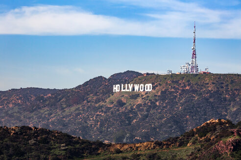 USA, California, Los Angeles, Hollywood Hills, Hollywood sign - WV00878