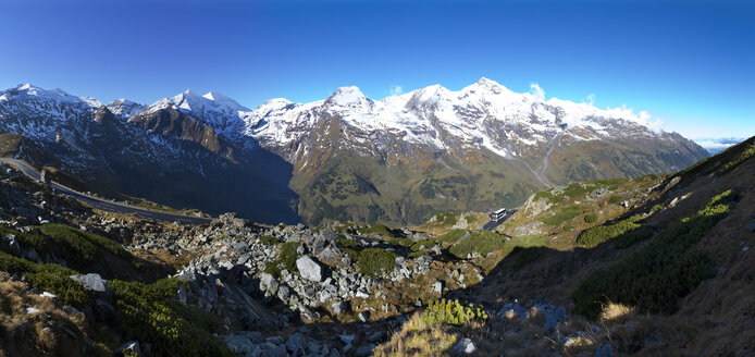 Austria, Salzburg State, Grossglockner High Alpine Road, Hexenkueche, Grosses Wiesbachhorn, High Tauern National Park - WWF04099
